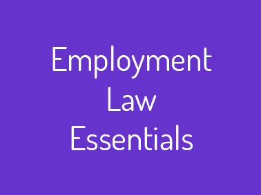 employment law training