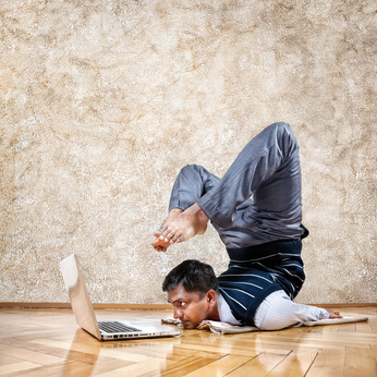 Flexible working trends: Business yoga