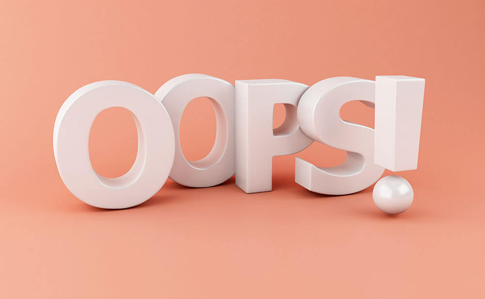 mistakes online training